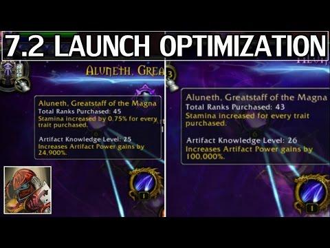 7.2 Launch Day Optimization & Prep - WoW Legion
