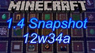Gefärbte Leder Rüstungen, neuer Boss? - Minecraft 1.4 Snapshot: 12w34a