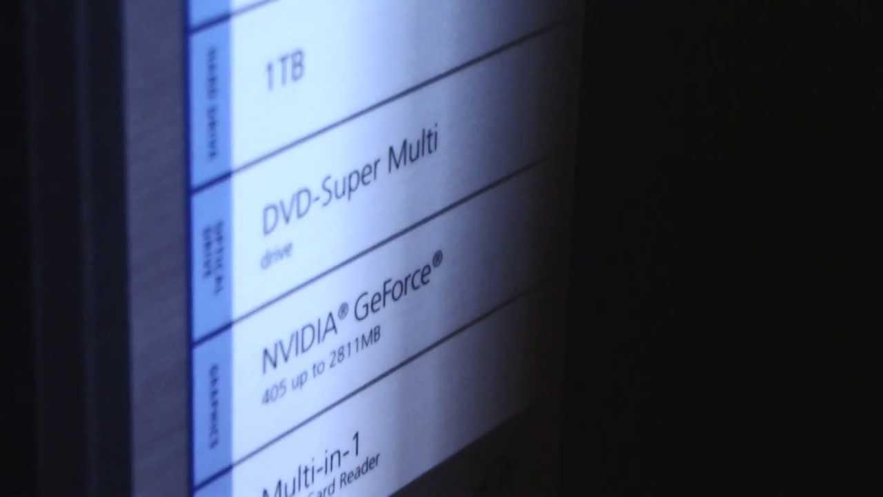 Acer Aspire M5811 NVIDIA Graphics Windows Vista 32-BIT
