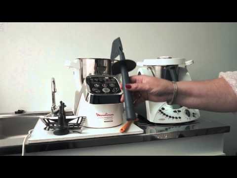 Dossier du jour robots cuisiniers la guerre est d c - Moulinex cuisine companion vs thermomix ...