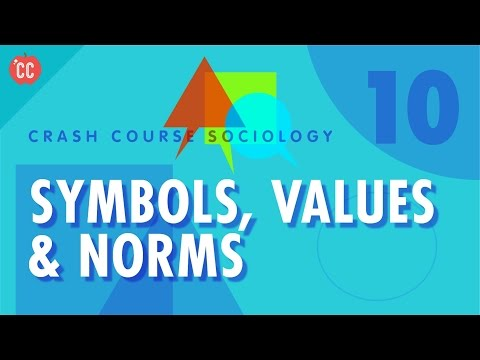 Symbols, Values & Norms: Crash Course Sociology #10
