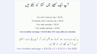how to make money online with ptc sites in pakistan(urdu guide)