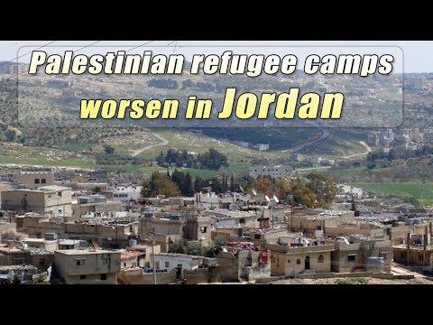 Live: Palestinian refugee camps worsen in Jordan ?????????????