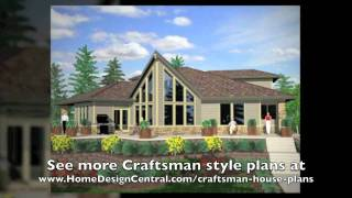 Craftsman Style House Plans At Home Design Central.com