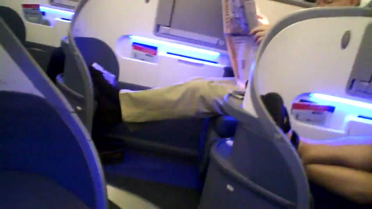 business class cabin of Air Canada 777 part 1  YouTube