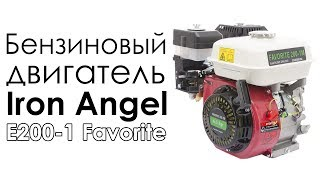Бензиновый двигатель Iron Angel Е200-1 Favorite (6,5 л.с., шпонка 19 мм)(, 2017-07-24T08:00:07.000Z)