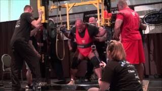 Eric Lilliebridge 1067.5kgs/2,353lbs All-Time World Record Raw Total (without wraps)