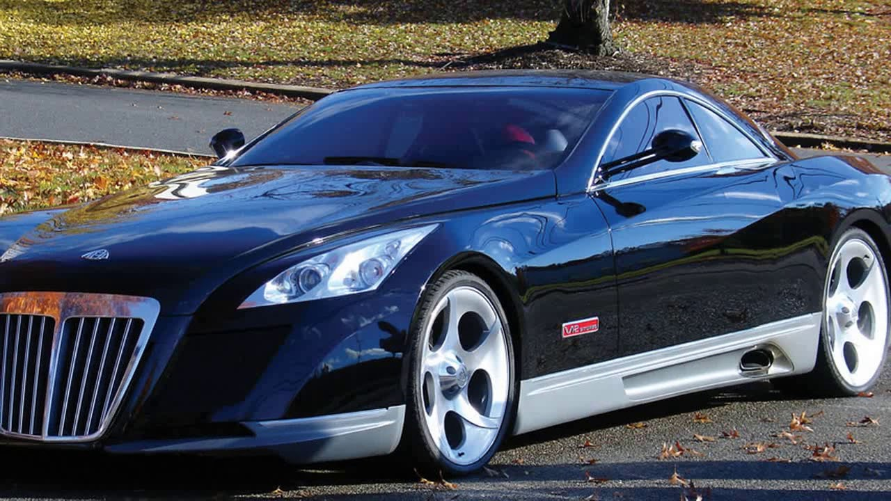 Maybach Exelero with a V 12 biturbo engine reached a top speed of ...