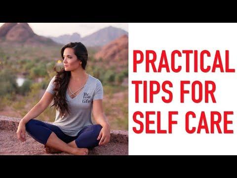 Practical Tips For Self Care | Consejos prácticos para el cuidado personal