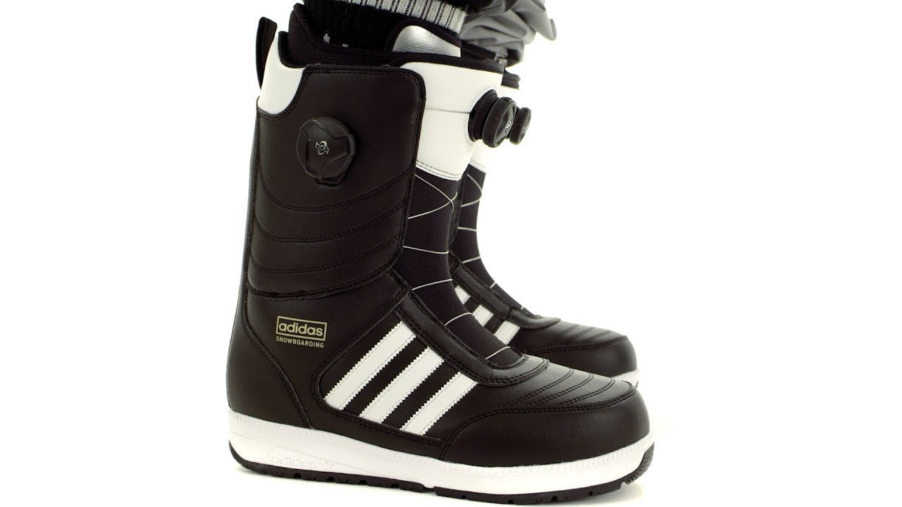 newest 7802b bbc38 2017  2018  Adidas Response ADV Snowboard boots  Video Overview