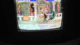 Ultimate Mortal Kombat 3 Sega Genesis Chameleon Ga
