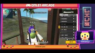 VEM PRA LIVE DOIDÃO   CAMP SOLO DO CHARIZARD  🥋🔥Veja a minha live de Free Fire na Omlet Arcade!