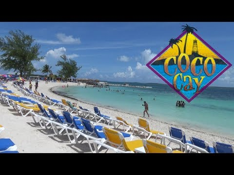 Coco Cay (Royal Caribbean's Bahamas Private Island) 2017 Tour & Review with The Legend