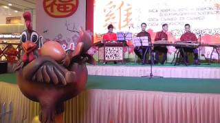 m mall penang times square pre chinese new year 2017 musical presentation