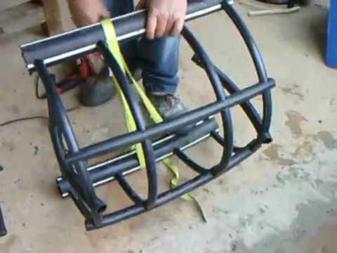 fabrication d 39 un casier crabes premi re partie youtube. Black Bedroom Furniture Sets. Home Design Ideas