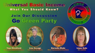 Discussing UBI With #Toya Woodland, #Lisa Savage, #Darnella Wade and #Liane Gale