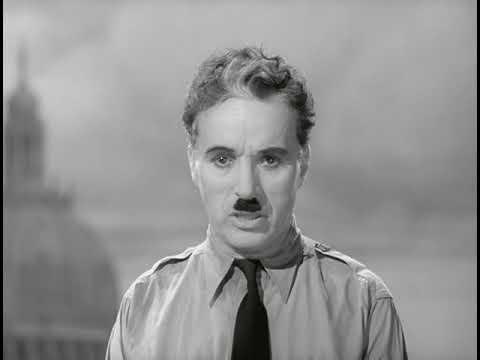 Речь Чарли Чаплина. Отрывок из кинофильма \