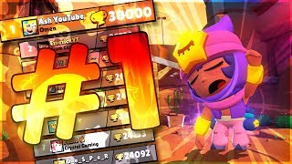 30,000 Trophies in Brawl Stars! #1 Global!