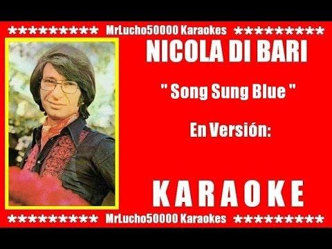 nicola-di-bari---song-sung-blue-(-karaoke-demo-nº-01-)