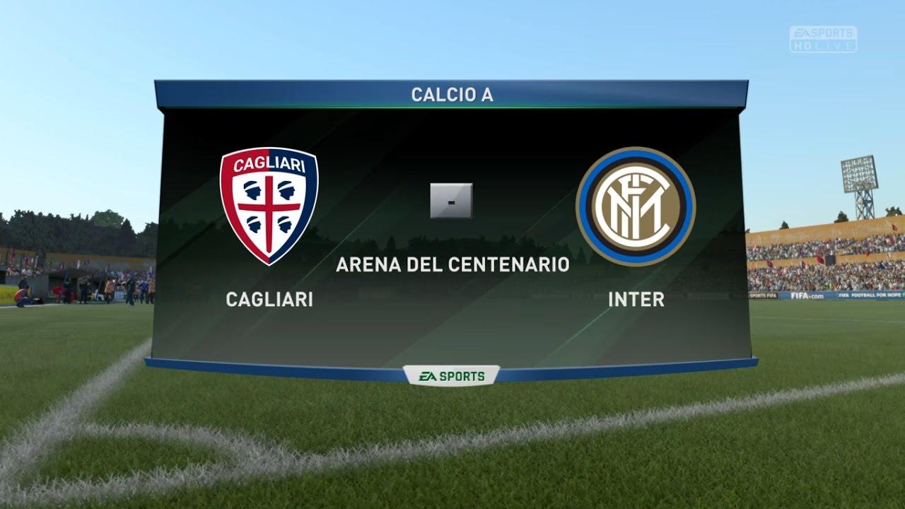 Cagliari Inter Pronostico Serie A 05 03 2017 Fifa 17