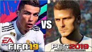 FIFA 19 vs PES 2019   Novedades y diferencias principales. ¿Cual comprar?