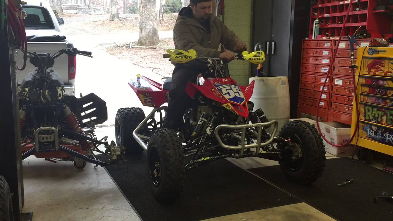 Wimmer team Suzuki ltr450
