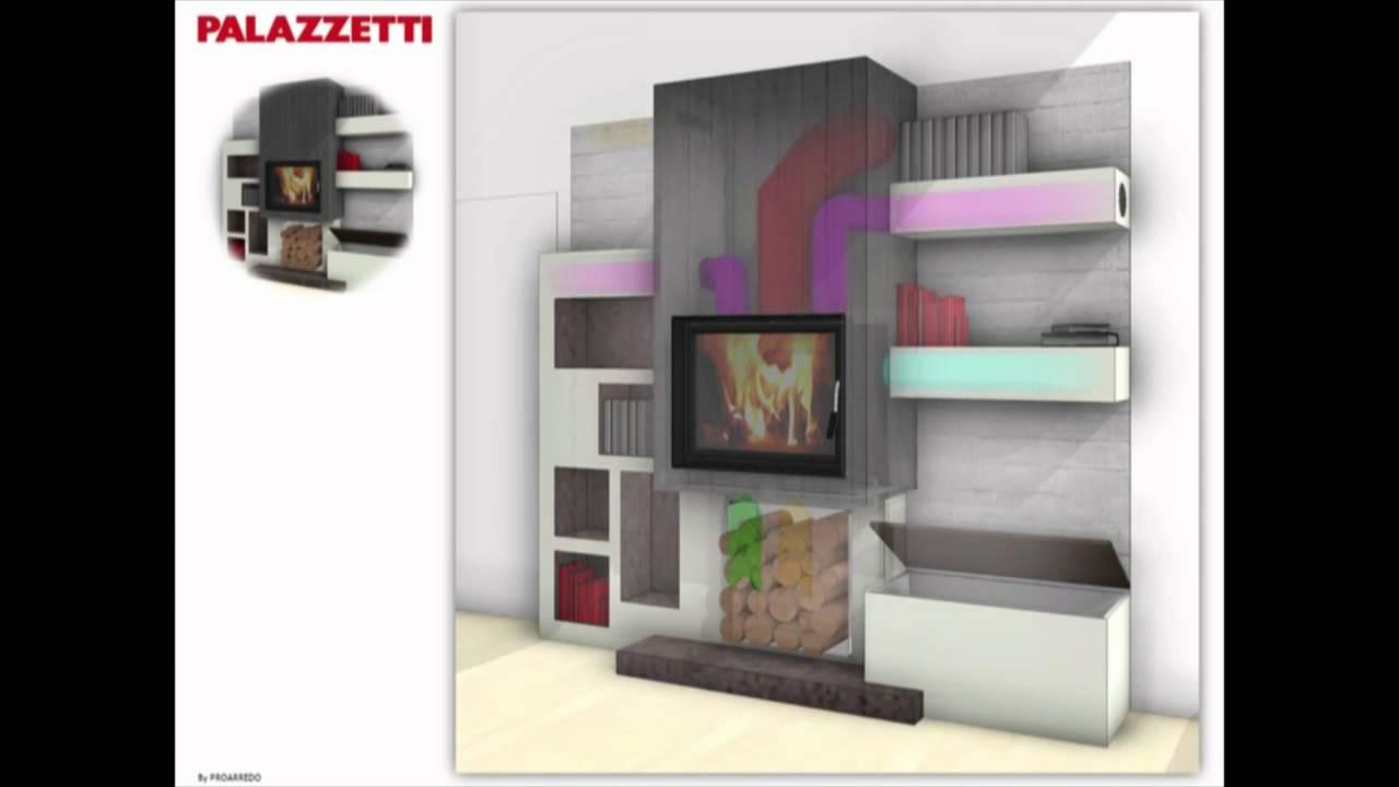 Camino Parete Tv Design E Arredamento Con Il Cartongesso Foto