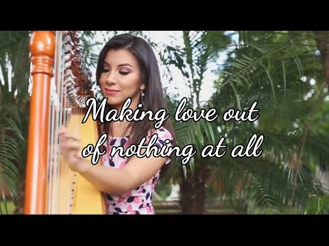 Air Supply Harp Cover - Making love out of nothing at all