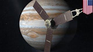 Juno mission: NASA's Juno spacecraft to reach Jupiter on Fourth of July - TomoNews