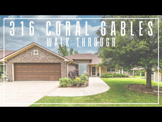 316 Coral Gables Walk Through