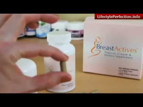 Breast Actives Natural Breast Enhancement Cream And Supplement