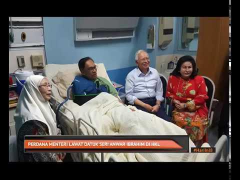 Perdana Menteri lawat Datuk Seri Anwar Ibrahim di HKL