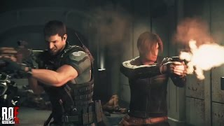 RESIDENT EVIL VENDETTA (2017) Leon & Chris Action Scene (HD)