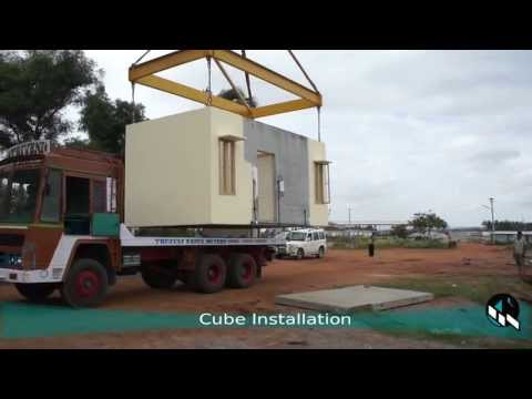 Mooreliving's m3 Transportable Cube Facility