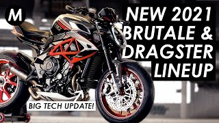 New 2021 MV Agusta 800 Brutale RR, Dragster RR & RC Announced! Everything You Need To Know