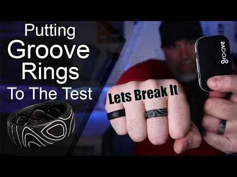 Groove Rings Review And Break Tested / Silicone Ring