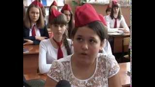 Уроки мужества в СШ №4.