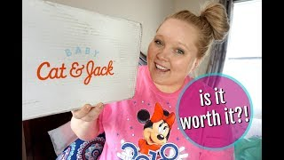 NEW Cat & Jack Baby Box From Target | IS IT WORTH IT?