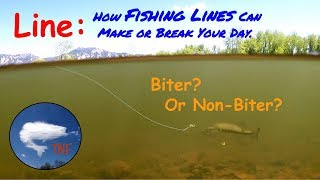 Fishing Lines 1: A Critical Link in Getting Fish to Bite.