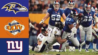 Ravens vs Giants Super Bowl XXXV