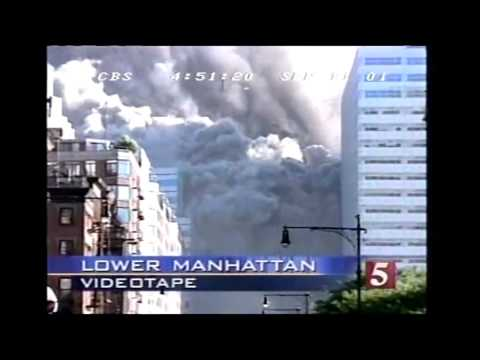 CBS 5 Video reveals that the East Wall of WTC 7 was Blown to Smithereens