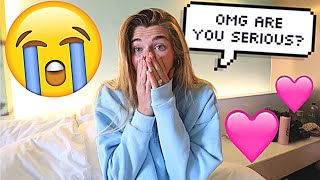 Asking My Fiance If She Wants To Do Her Favorite Things! *CUTE REACTION*