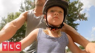 The Quints Learn How to Ride a Bike! | OutDaughtered