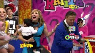 Jazmín y Laurita con Fabricio y Laura Helena