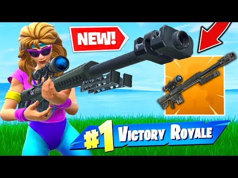 *NEW* LEGENDARY HEAVY SNIPER In Fortnite Battle Royale!