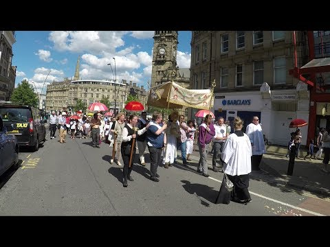 Corpus Christi Procession 2017 The Cathedral Church o St.Marie Sheffield