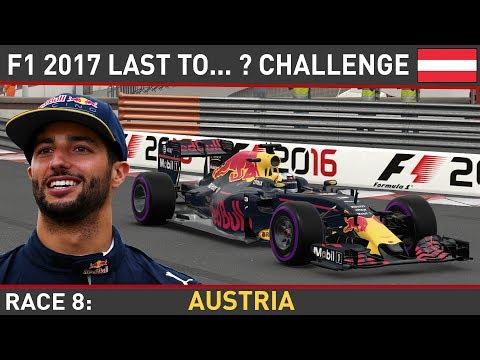 F1 2016 - Last To... ? LIVE #8 - Austrian Grand Prix