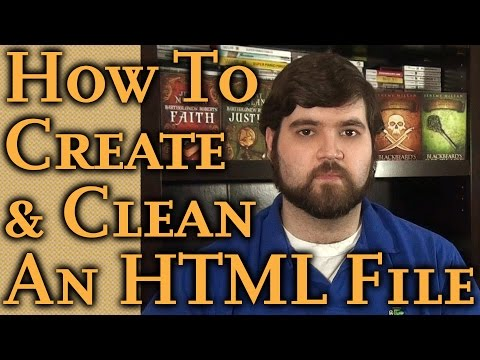 Watch How EASY It Is To Create An HTML File: Simple Self-Publishing Part 8