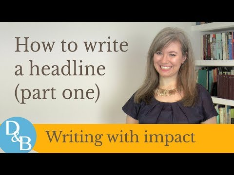 The Simple Way to Write Great Book Marketing Headlines from YouTube · Duration:  7 minutes 5 seconds