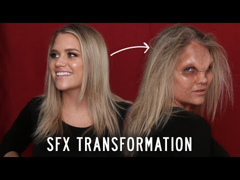 TRANSFORMED BY SFX MAKEUP...OMG WTF?! | Samantha Ravndahl